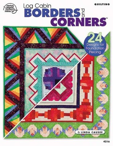 Quilting Log Cabin Borders and Corners