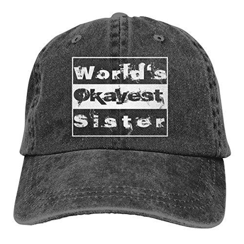 Adam B George14 Unisex Worlds Okayest Sister Extreme Sports Hat