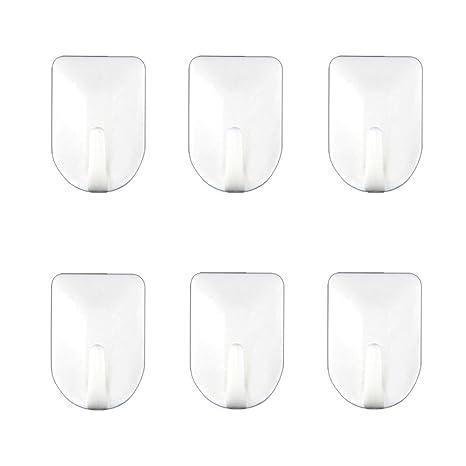 Amazon.com: daixers Strong Adhesive Hooks, fácil de instalar ...