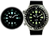 Tauchmeister men`s Germany XL 52mm automatic movt. diver watch T0296