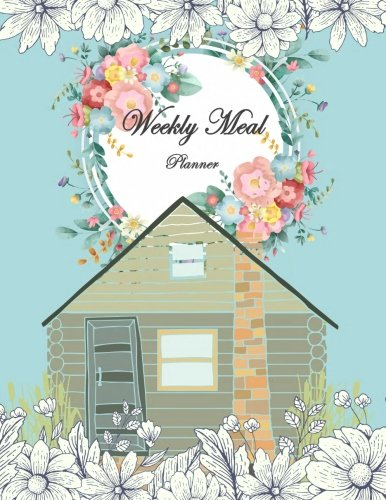 Weekly Meal Planner: Weekly Meal Planner and Grocery List, Food Planners, Family Meal Planning Notebook 120 Pages Large 8.5
