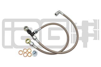 IAG Garrett GT Turbo Oil Feed AVCS Line For 06-14 Subaru WRX 04-