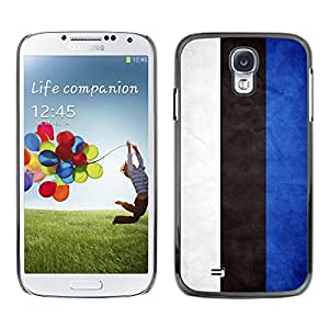Shell-Star ( National Flag Series-Estonia ) Snap On Hard Protective Case For Samsung Galaxy S4 IV (I9500 / I9505 / I9505G) / SGH-i337