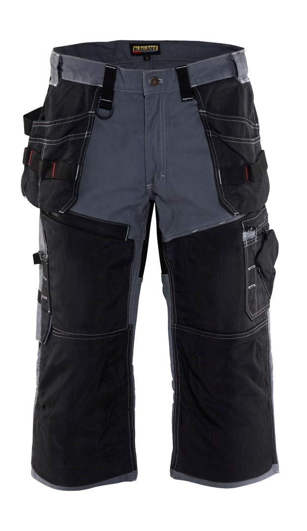 150113709499C50 Trousers Pirate''x1500'' Size 34/32 (Metric Size C50) IN Grey/Black
