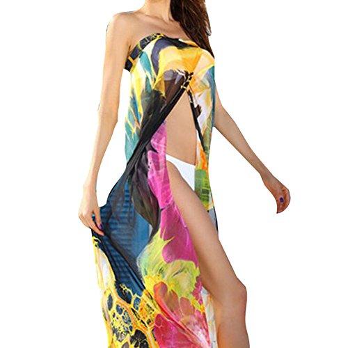 Donne Solare Spiaggia Protezione Abito Elegante Da Bikini Colore Bagno Costumi Beige Juleya Coprire B Bianco Beachwear Nero 0pTzxd0q