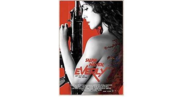 Everly Movie Poster 24inx36in