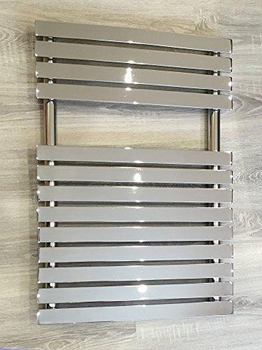Diseño baño Radiador PUKITA Cromo 780 x 500 mm. calentador toallas