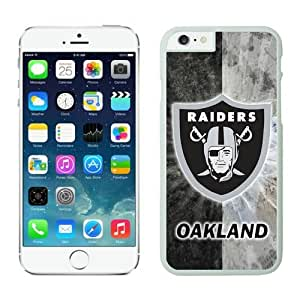 NFL Oakland Raiders iPhone 6 Plus Case 34 White 5.5 Inches NFLIphone6PlusCases13832