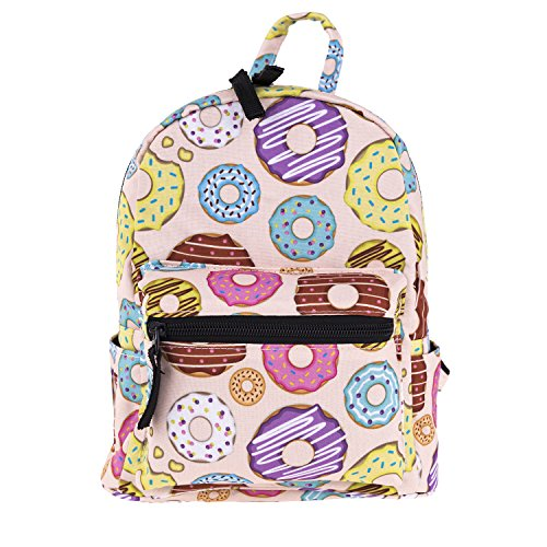 3D cute mini pack bag for girls kids baby children pink Backpack 10-inch