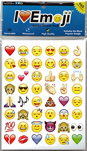 Emoji-Jumbo-Stickers-960-Most-Popular-Emoticons-Larger-In-Size-Cool-Educational-and-Fun