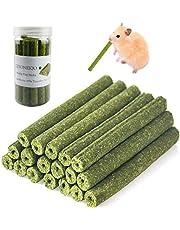 KEYONEKJO Timothy Hooi Sticks voor Konijnen Cavia Hamsters Chinchilla Bunny Kauwspeelgoed voor Tanden Behandelt Accessoires