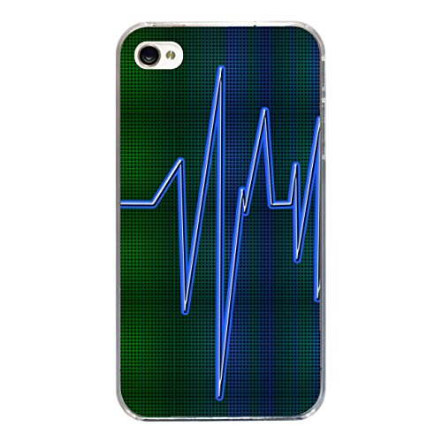 "Disagu Design Case Coque pour Apple iPhone 4s Housse etui coque pochette ""Herzschlag No.2"""