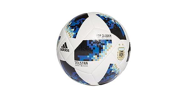 adidas WC 18 Ball AFA Balón, Hombre, (Blanco/Negro), 5: Amazon.es ...