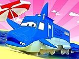 New ! Shark week - Troy is a Shark/Sheriff Train/The Walking Bridge/The Ram Train