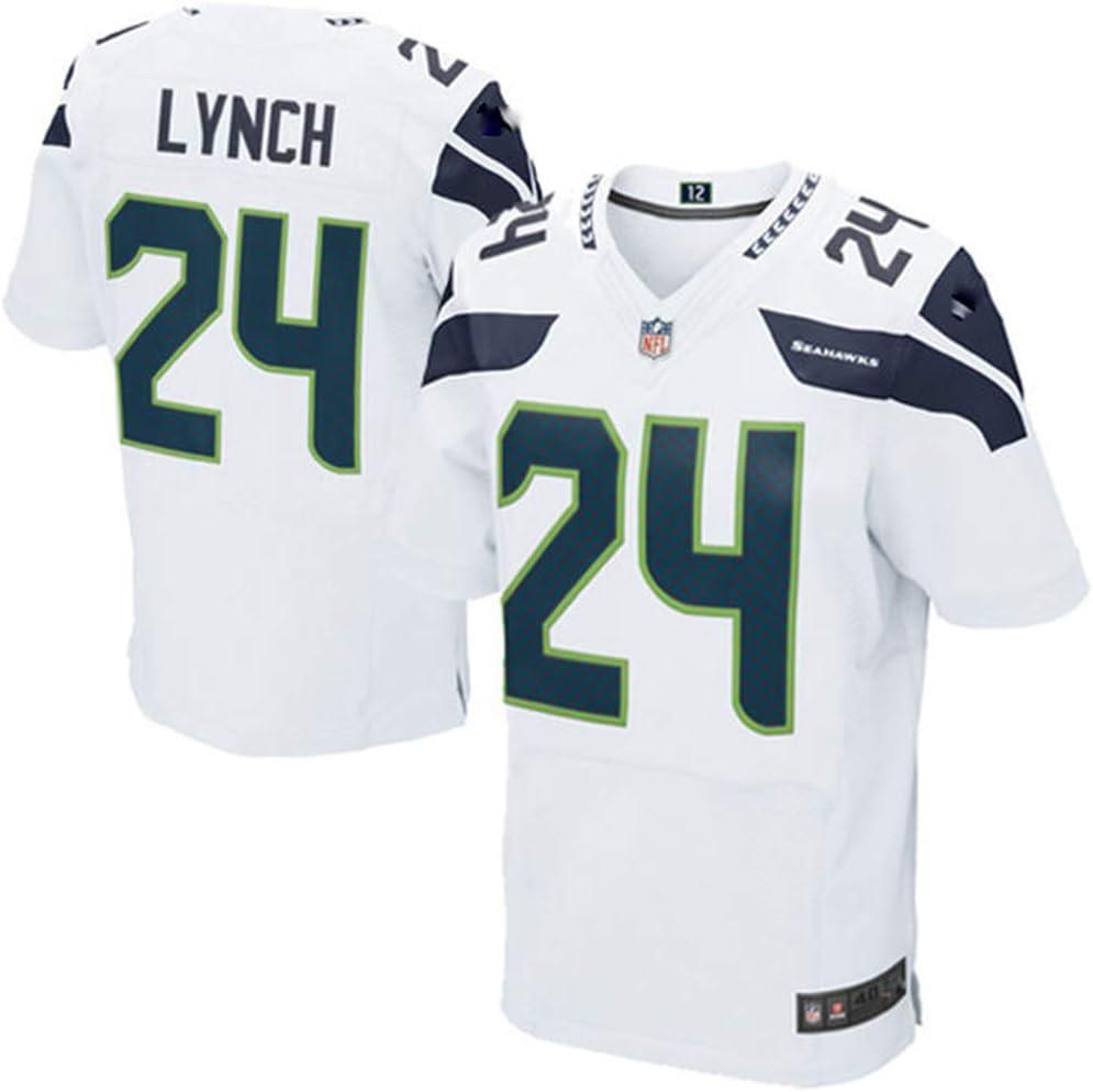 HFJLL NFL Fu/ßball Jersey Seahawks No.24 T-Shirt