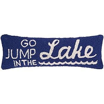 Amazon Com Peking Handicraft Jump In The Lake Hook Pillow