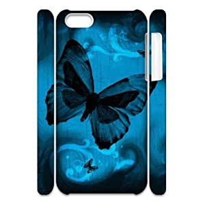MEIMEIALICASE Diy 3D Protection Hard Case Butterfly For iphone 4/4s [Pattern-1]MEIMEI