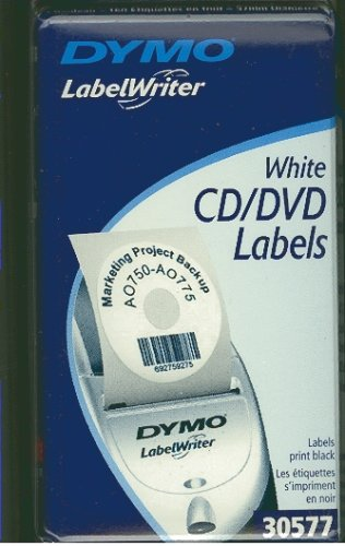 Cd / Dvd Labels Accessories (LABEL, DYMO CD/DVD 2-1/4