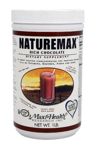 Naturemax - Chocolate (Vegetarian) Maxi-Health 1 lbs Powder