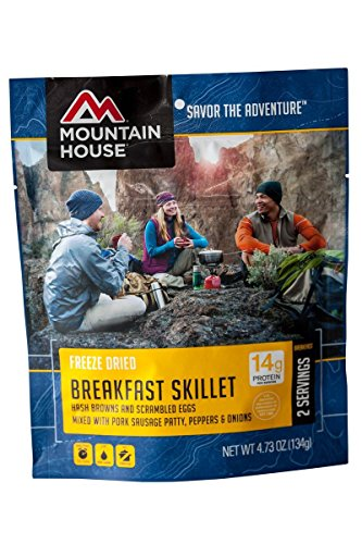 Mountain House Breakfast Skillet Pouch 2-Pack (2 Pack Skillet)