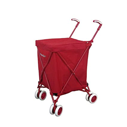 13d1a0dc0464 Amazon.com - KTYX Foldable Trolley, Suitcase, Shopping Bag, Rotating ...