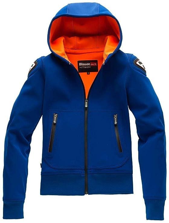 Chaqueta Moto Blauer Easy Woman 1.1 con capucha, color azul ...