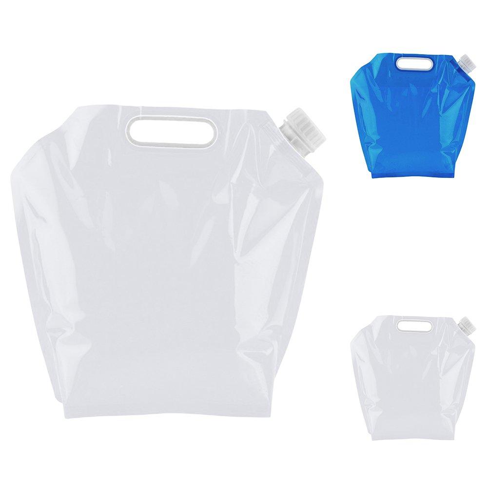 5L 10L Outdoor campeggio trekking leggero pieghevole sacchetto di acqua secchio insapore Safety Seal borse di stoccaggio pieghevole acqua potabile TM Qiao Nai