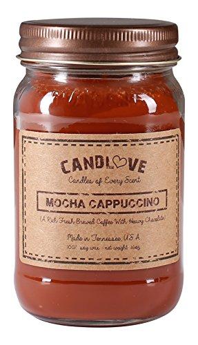 Coffee 16 Oz Jar Candle - Candlove