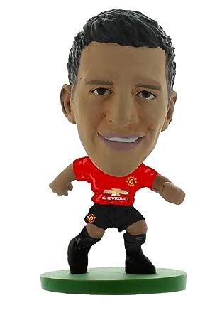 pretty nice c3de1 a3579 SoccerStarz SOC1293 Man Utd Alexis Sanchez-Home Kit (2019 ...