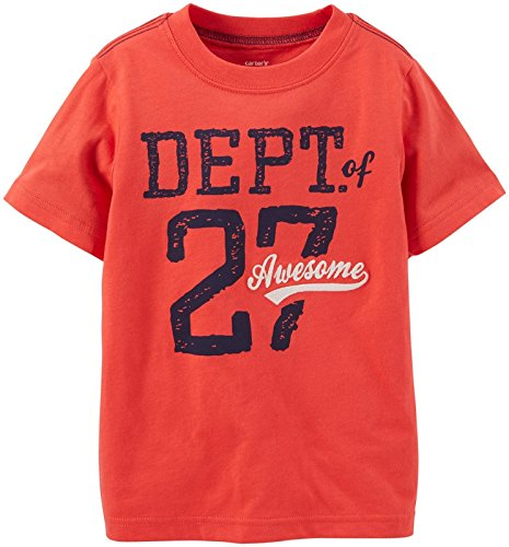 Carter's Baby Boys' Graphic Tee (Baby) - Dept of Awesome - 18 Months