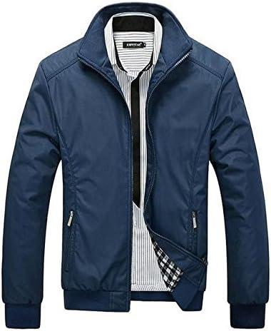 Costbuys Mens Jackets Mens New Casual Jacket Spring Regular Slim Jacket