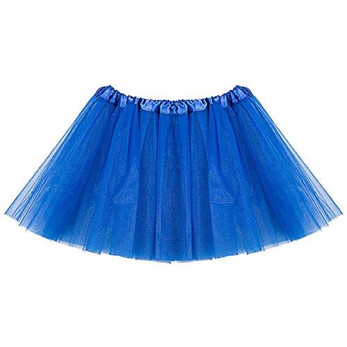 danza Costume vestito Tulle balletto Tutu AMORETU 01 gonna Blu sottoveste Donna n0P4xA