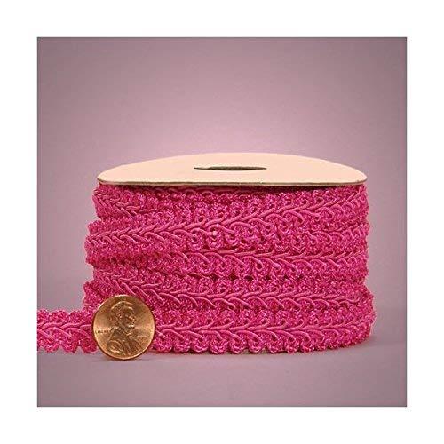 Hot Pink Gimp Braid Trim, 5/8' X 10yd
