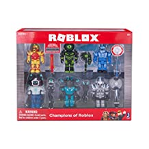 Roblox Series 1 Champions of Roblox 6 Pack Action Figure Collection Set Jazwares