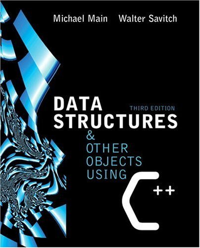 Data Structures and Other Objects Using C++ (3rd Edition)