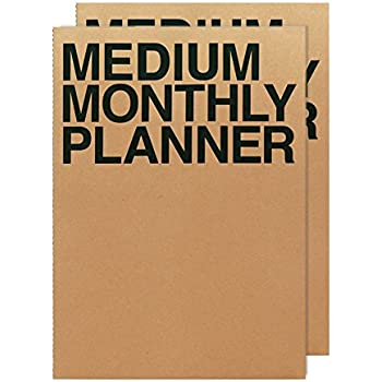 Amazon.com : JSTORY Big Weekly Planner Stitch Bound Lays ...