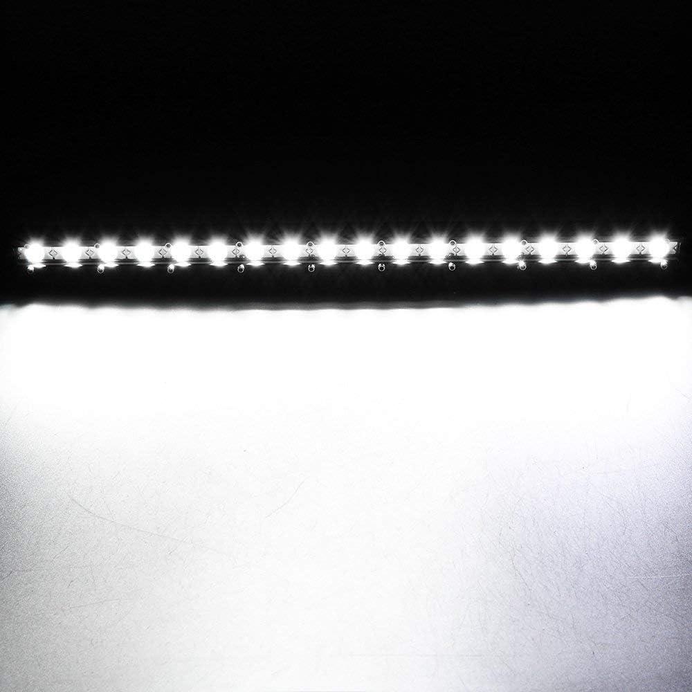 Willpower Barra LED 150W 76cm Barras de Luz de Trabajo Unica Fila Combinaci/ón de Punto Inundaci/ón 12V 24V 6000K Faro Led IP67 Impermeable Foco Led Coches 4x4 Tractors Caminos Barcos ATV UTV SUV 4WD