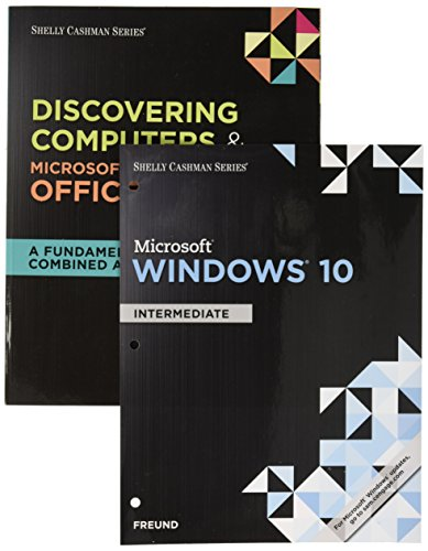 Bundle: Shelly Cashman Series Discovering Computers & Microsoft Office 365 & Office 2016: A Fundamental Combined