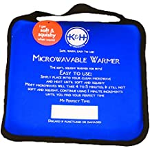 K&H PET PRODUCTS LLC 3111 MICROWAVABLE PET BED WARMER BLUE 9X9 INCH