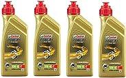 Kit 4 Castrol Power 1 Racing 10w40 4T Sintético