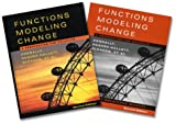 Functions Modeling Change, Textbook and Student Solutions 9780471654384