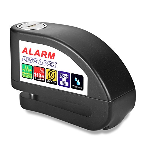 Alarm Disc Lock, Sungwoo Anti Theft 110db Motorcycle Alar...
