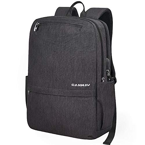 Laptop Backpack 15.6 Inch School Backpack Business Travel Backpacks for Men Women College School Bag Lightweight Casual Waterproof Slim