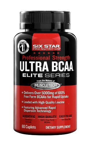 Six Star Pro Nutrition PS Ultra Max BCAA Capsules, 60-Count