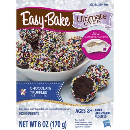 Easy Bake Ultimate Oven Refill Pack (Chocolate Truffles, 2 Pack)