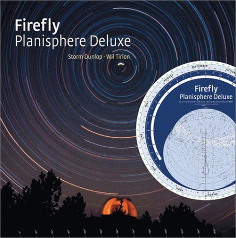Firefly Planisphere Deluxe: For Latitudes between 40 deg and 60 deg North -- Stars to Magnitude 5.5 -- Equinox 2000.0 by Firefly Books