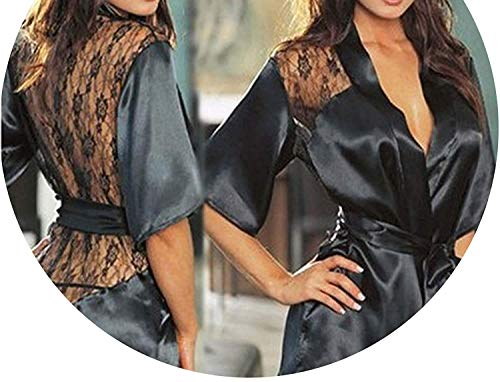 Vibratos Nice Egg Newly Designed SexTy Lingerie Robe Dress Women Porno Hot Lingerie,Small,Black,vibratos -