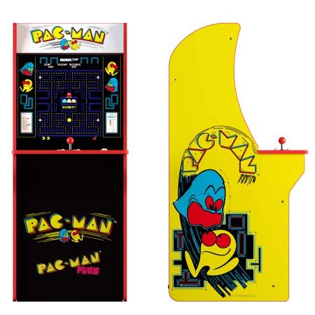 Arcade1Up Pacman Classic Home 3/4 Scale Arcade 1UP Cabinet Video Game, Walmart Exclusive ()