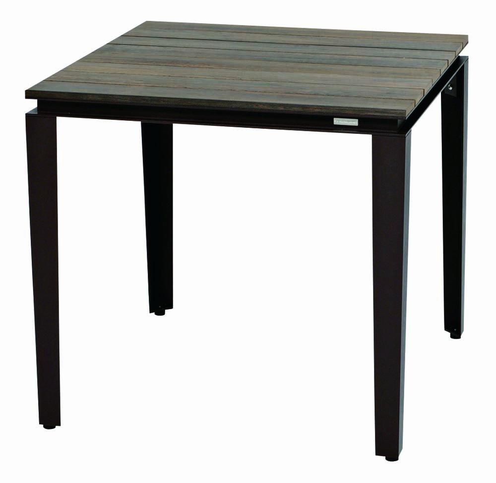 タパテーブル80x80 ラスト+ウエンゲ B00CFCACIG