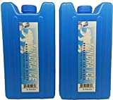 Ice Pack Hidden Secret Booze Alcohol Spirits Flask Two Pack - 14oz Capacity Food Grade Material - Great for Concerts, Festivals and the Beach - By Txdeals4u